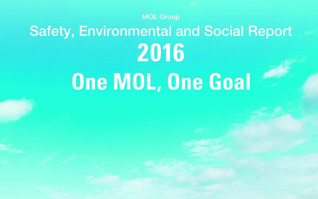 MOL GROUP SAFETY, ENVIRONMENTAL AND SOCIAL REPORT 2016' EARNS AWARD OF MERIT IN ENVIRONMENTAL COMMUNICATION AWARDS