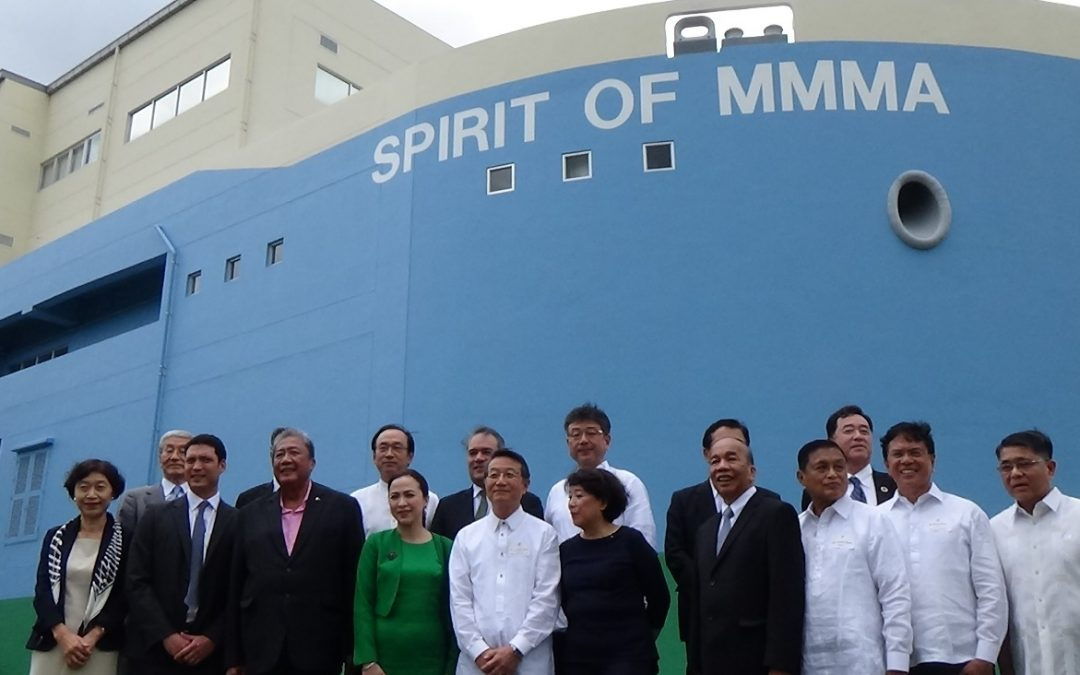 INAUGURATION CEREMONY MARKS OPENING OF MOL MAGSAYSAY MARITIME ACADEMY ~700 GUESTS ON HAND, INCLUDING PHILIPPINE GOVERNMENT OFFICIALS ~
