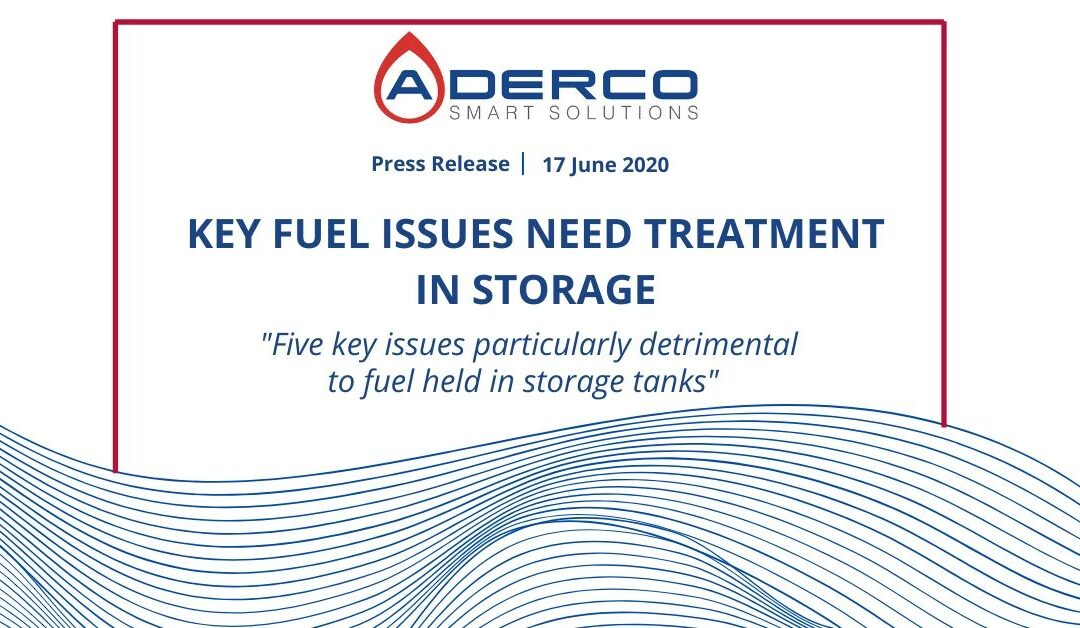 KEY FUEL ISSUES NEED TREATMENT IN STORAGE